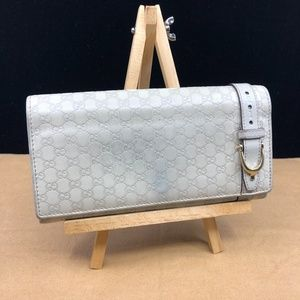 GG195 Guccissima Long Wallet